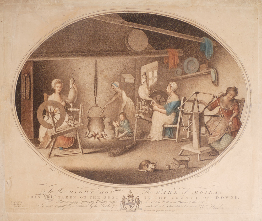 1791 The Irish Linen Industry by William Hincks. at Whyte's Auctions
