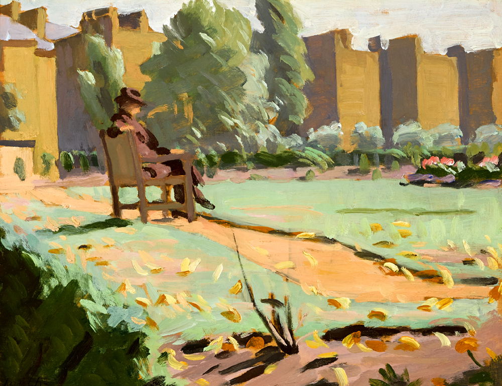 THE GARDENS, MAIDA VALE, LONDON by William John Leech sold for �13,000 at Whyte's Auctions