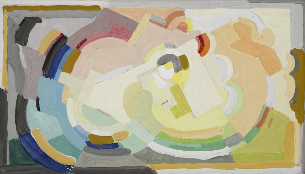 COMPOSITION by Mainie Jellett sold for �3,200 at Whyte's Auctions