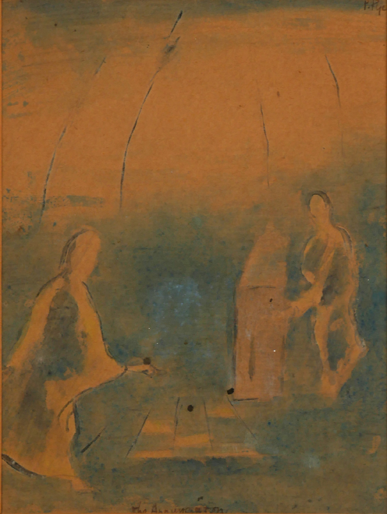 THE VISITATION by Patrick Pye RHA (b.1929) at Whyte's Auctions