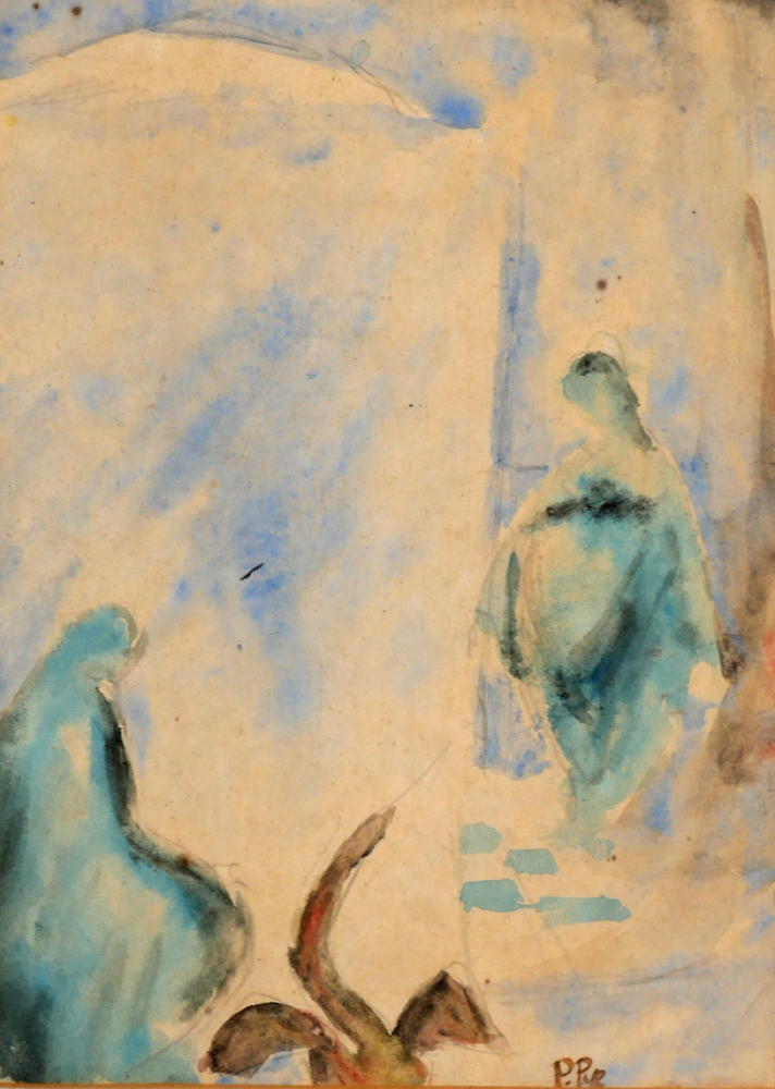 THE ANNUNCIATION by Patrick Pye RHA (b.1929) at Whyte's Auctions