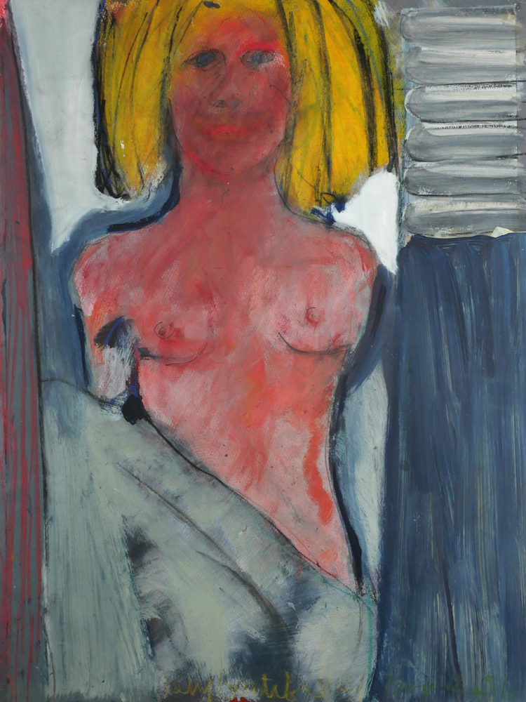 MODEL, 1981 by Brian Maguire (b.1951) at Whyte's Auctions