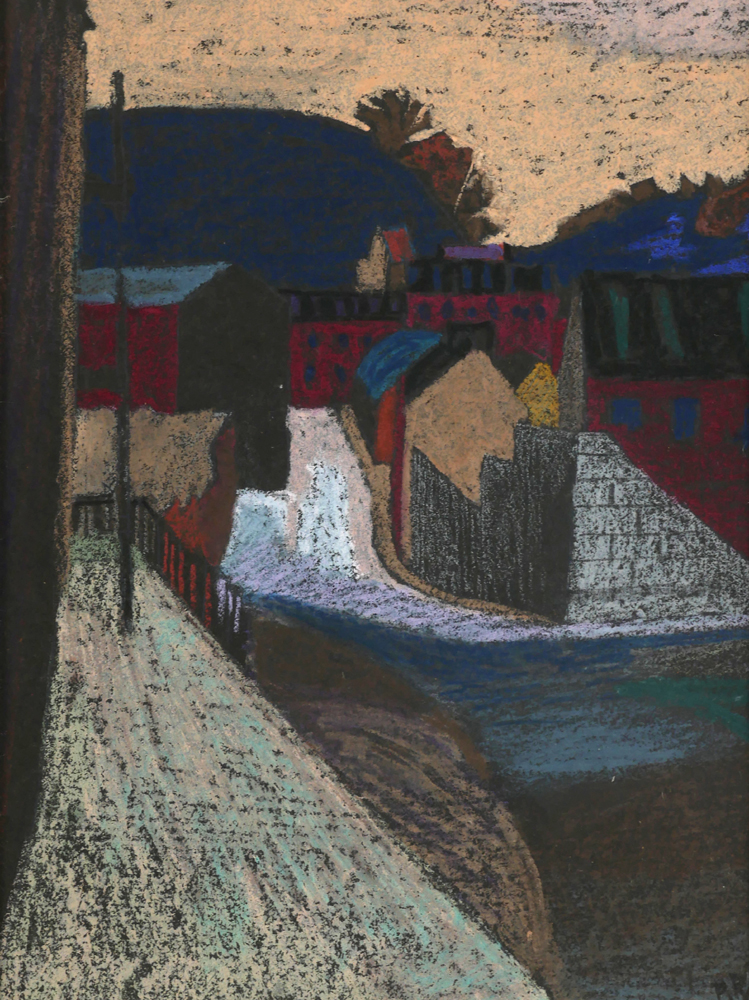 PROVINCIAL TOWN by Patrick Pye RHA (b.1929) at Whyte's Auctions