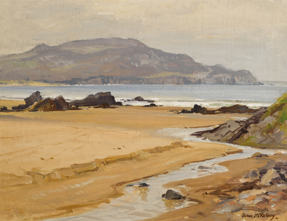 HORN HEAD, COUNTY DONEGAL by Frank McKelvey RHA RUA (1895-1974) at Whyte's Auctions