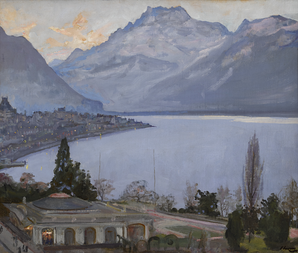 EVENING, MONTREUX by Sir John Lavery sold for �90,000 at Whyte's Auctions
