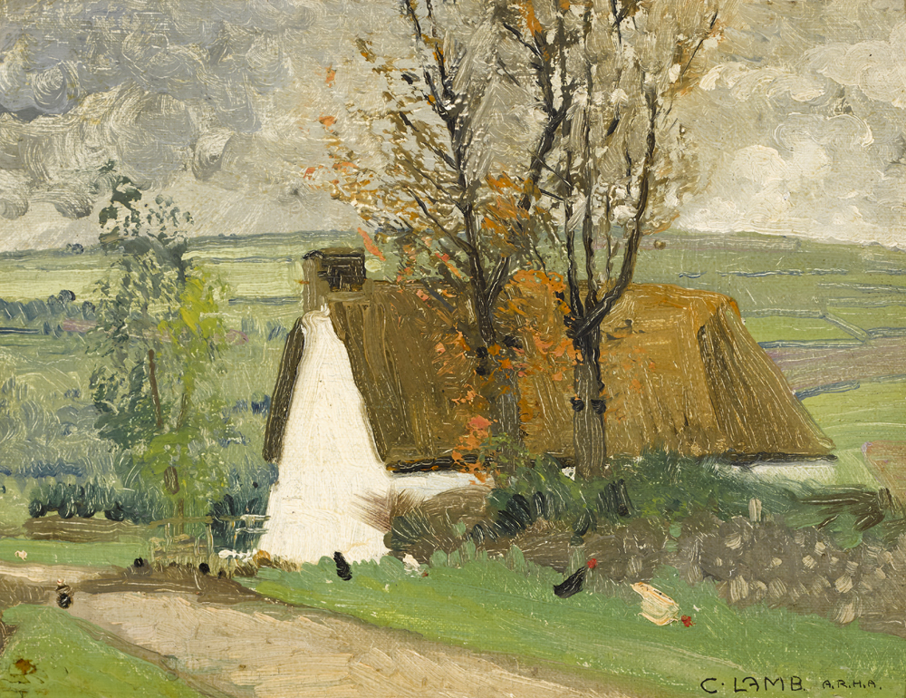 NEAR CAPPAGH, COUNTY WATERFORD, 1923 by Charles Vincent Lamb RHA RUA (1893-1964) at Whyte's Auctions