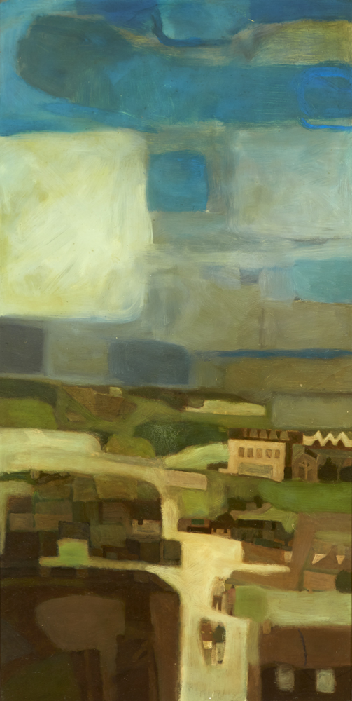 TALL LANDSCAPE by Jack Cudworth (1930-2010) (1930-2010) at Whyte's Auctions