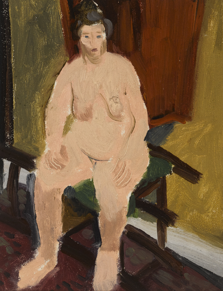 NUDE, PARIS, 1931 by Elizabeth Rivers (1903-1964) (1903-1964) at Whyte's Auctions