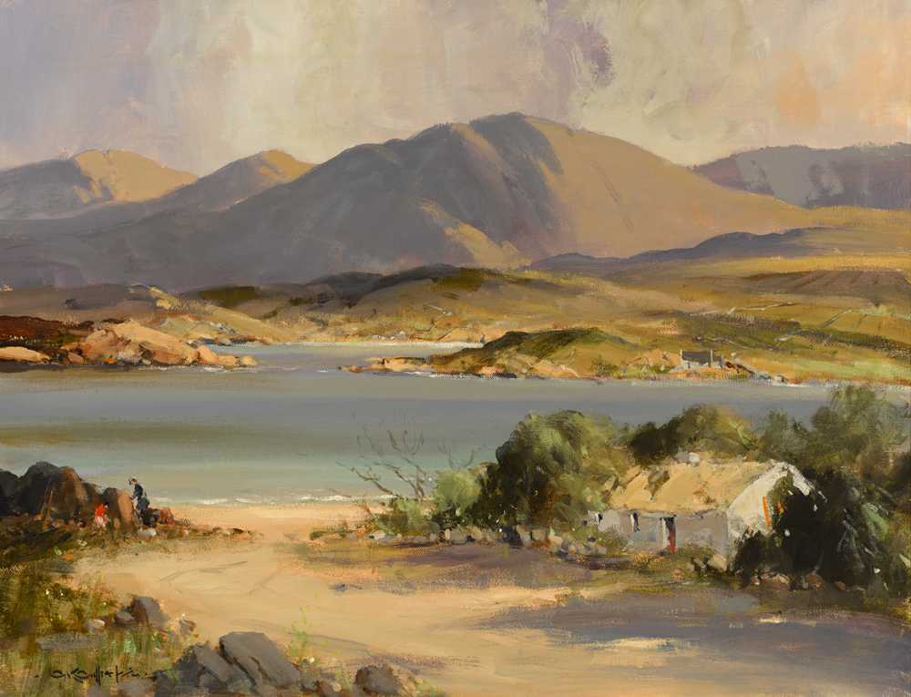 NEAR RENVYLE, CONNEMARA by George K. Gillespie RUA (1924-1995) at Whyte's Auctions