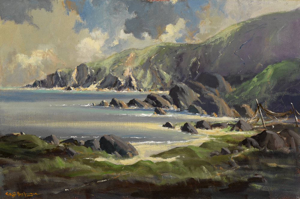 NEAR MULROY BAY, COUNTY DONEGAL by George K. Gillespie RUA (1924-1995) at Whyte's Auctions