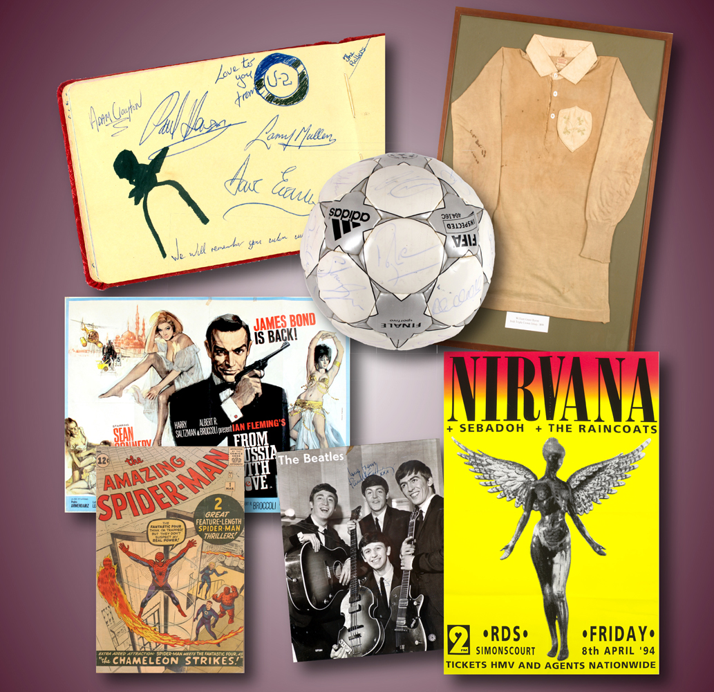 Sport & Entertainment Memorabilia