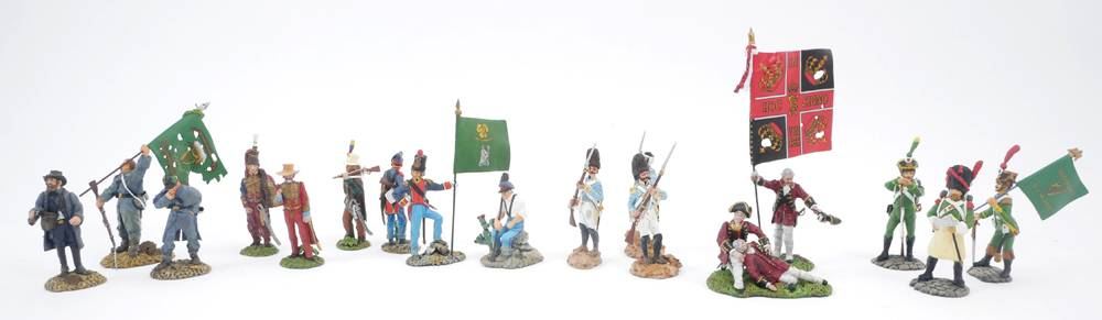 Model soldiers, Irish troops in foreign wars  at Whyte's Auctions