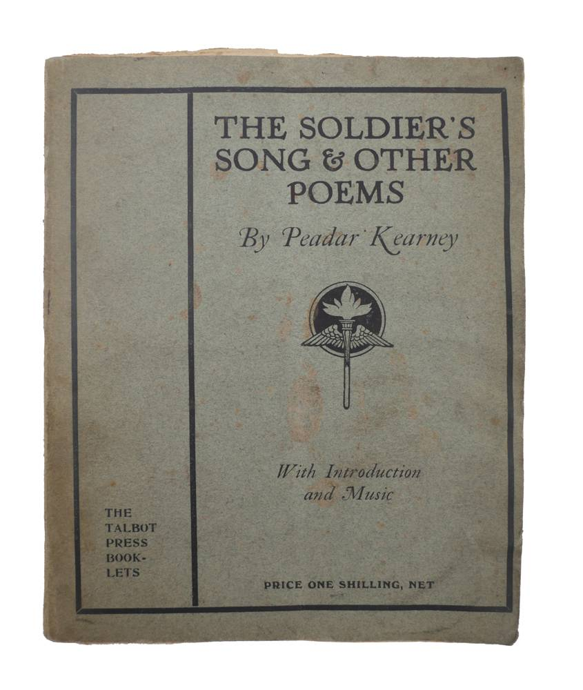 Kearney, Peadar  The Soldier's Song and Other Poems