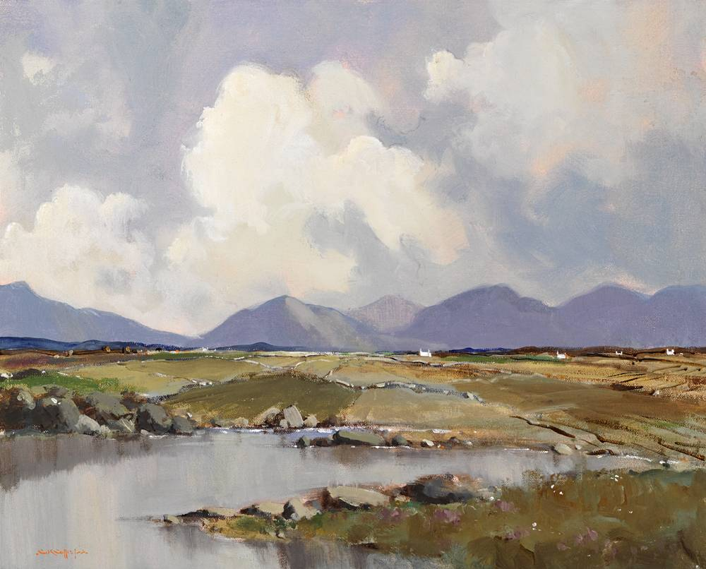 ROSSES, COUNTY DONEGAL by George K. Gillespie RUA (1924-1995) at Whyte's Auctions