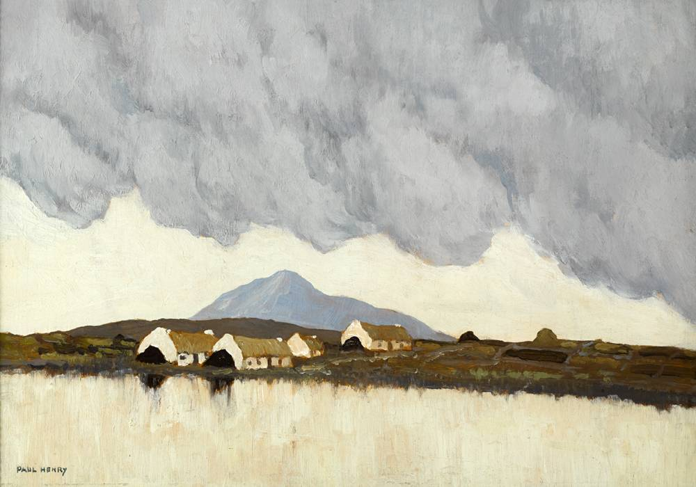 LANDSCAPE, WEST OF IRELAND, c.1915-1918 by Paul Henry RHA (1876-1958) RHA (1876-1958) at Whyte's Auctions
