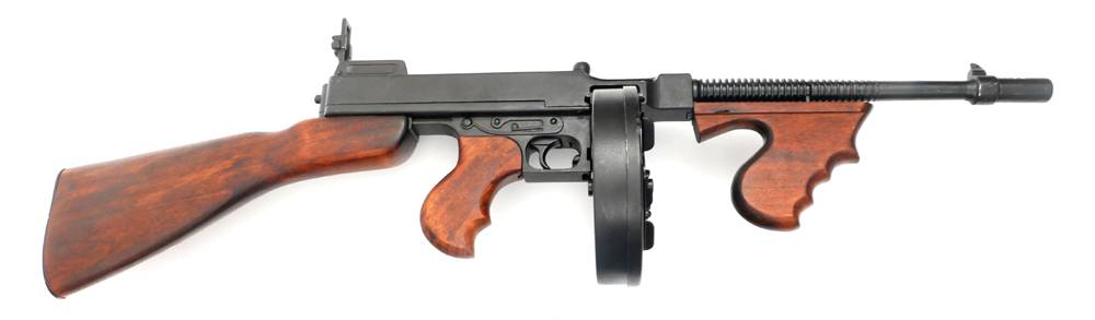 Replica 1928 Thompson sub-machine gun  at Whyte's Auctions