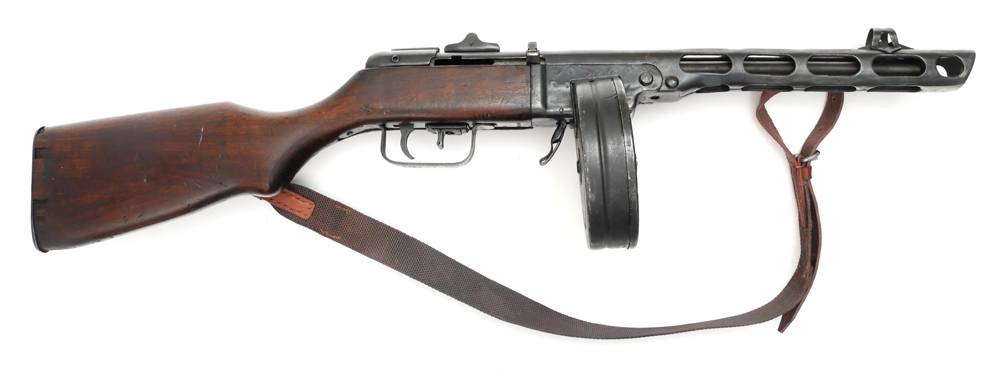 PPsH 41 sub-machine gun  at Whyte's Auctions | Whyte's