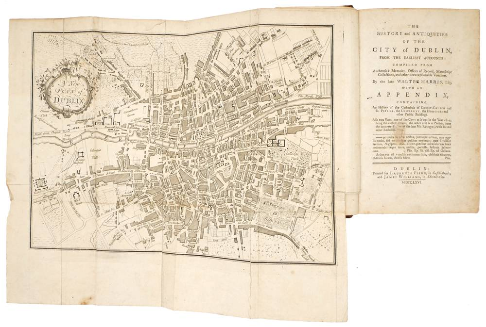 Harris, Walter. The History and Antiquities of the City of Dublin, from the Earliest Accounts: at Whyte's Auctions