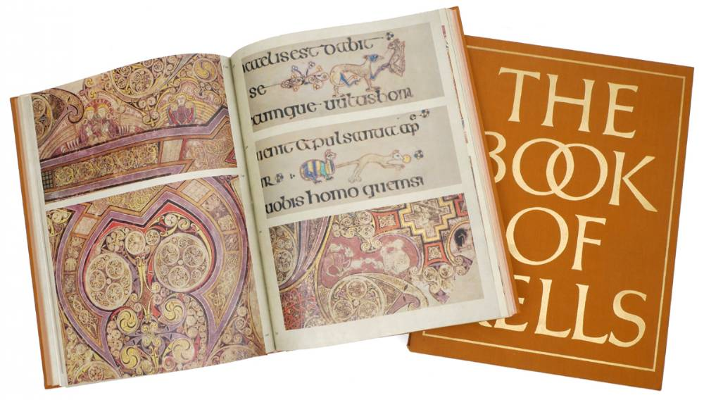 Book of Kells, facsimile. at Whyte's Auctions