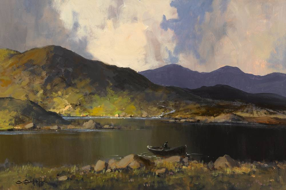 REFLECTIONS, COUNTY MAYO by George K. Gillespie RUA (1924-1995) at Whyte's Auctions