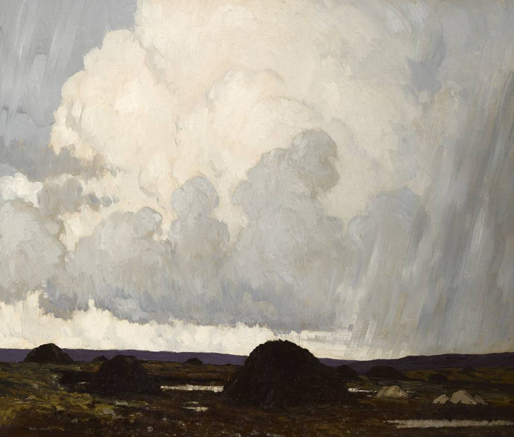 WESTERN SKIES, c.1919 by Paul Henry sold for €46,000 at Whyte's Auctions
