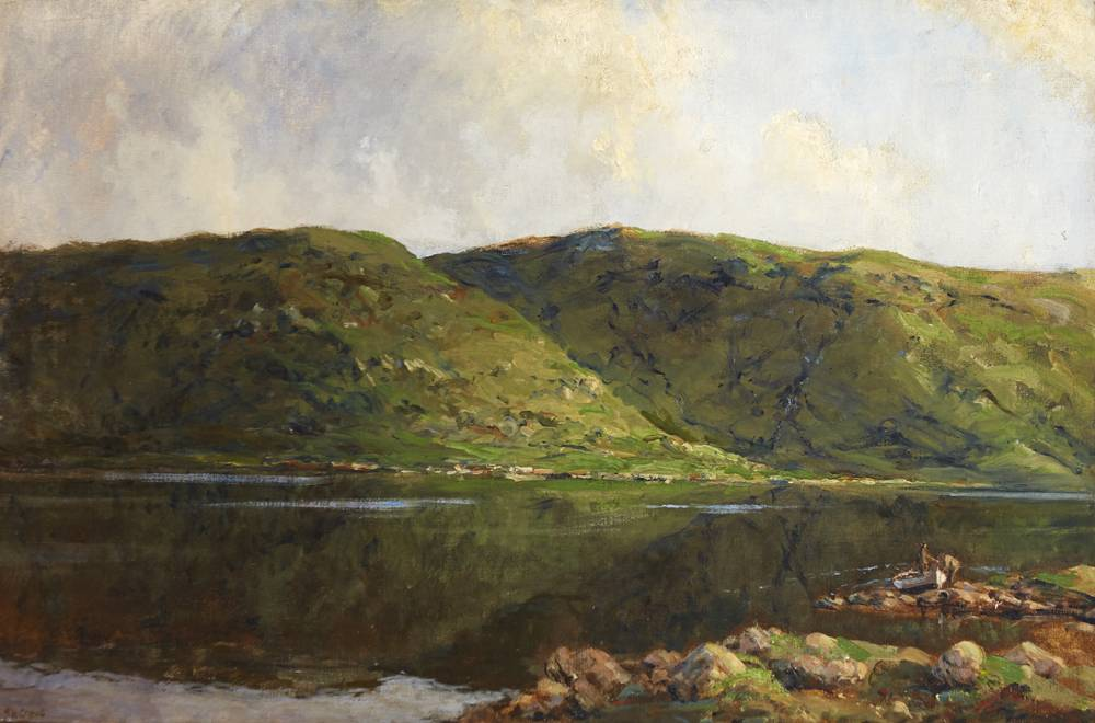 LOUGH FEA, COUNTY MONAGHAN by James Humbert Craig RHA RUA (1877-1944) at Whyte's Auctions