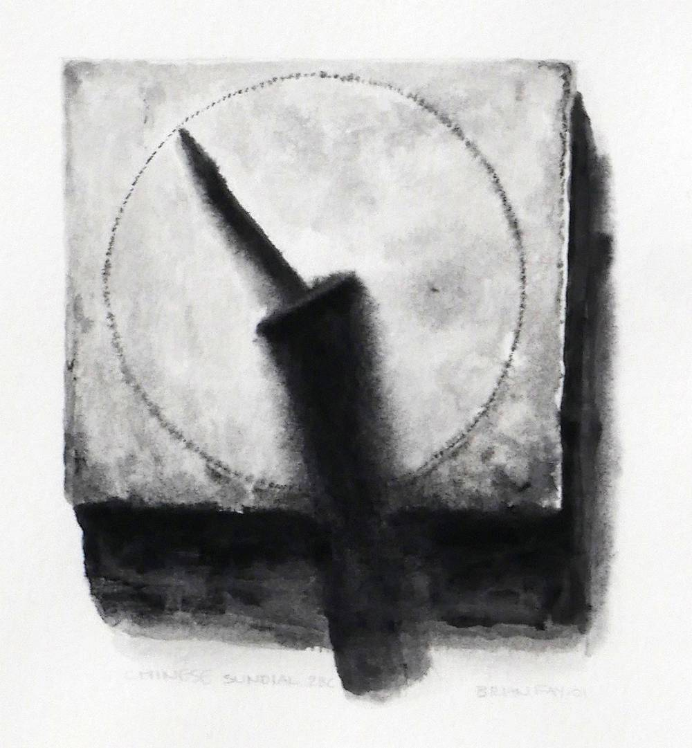 CHINESE SUNDIAL, 2BC, 2001 by Brian Fay (b.1968) at Whyte's Auctions