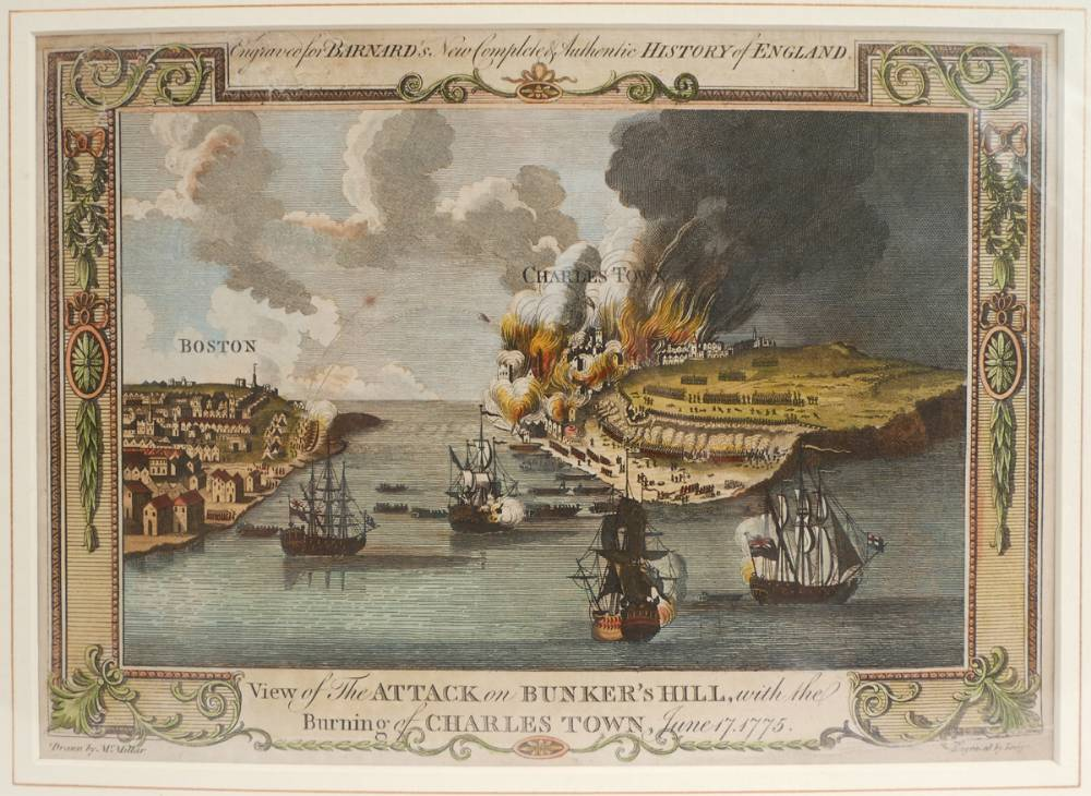Battle of Bunker Hill, prints. at Whyte's Auctions