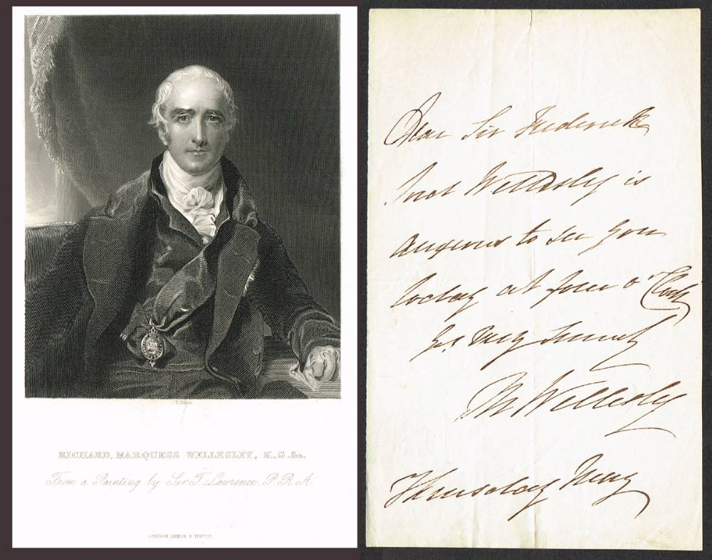 1776-1836 Collection of letters by members of the Ascendancy in Ireland. at Whyte's Auctions