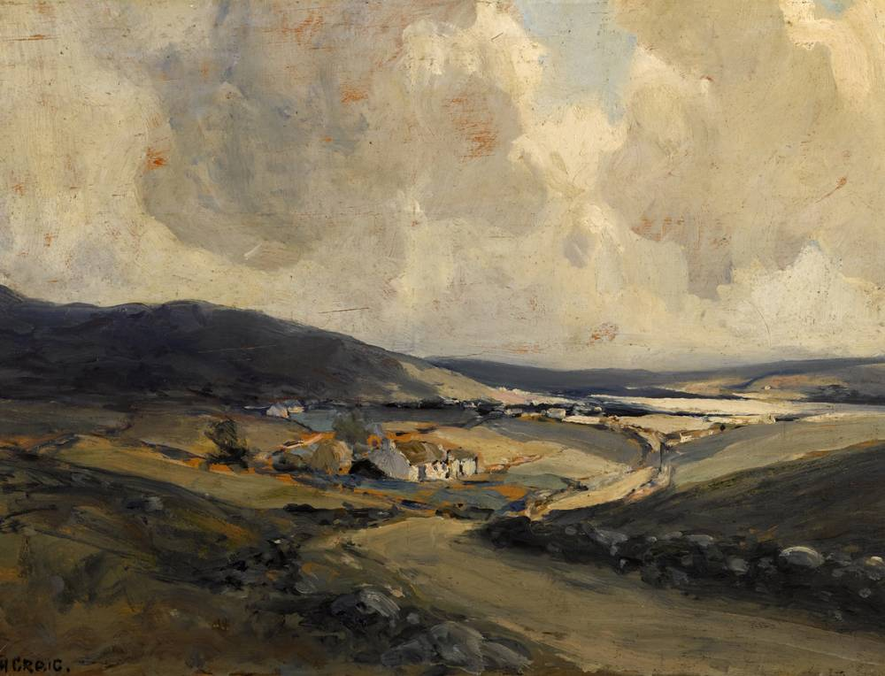 DONEGAL LANDSCAPE by James Humbert Craig RHA RUA (1877-1944) at Whyte's Auctions