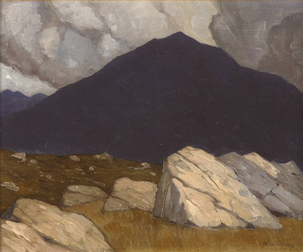 ACHILL by Paul Henry sold for €44,000 at Whyte's Auctions