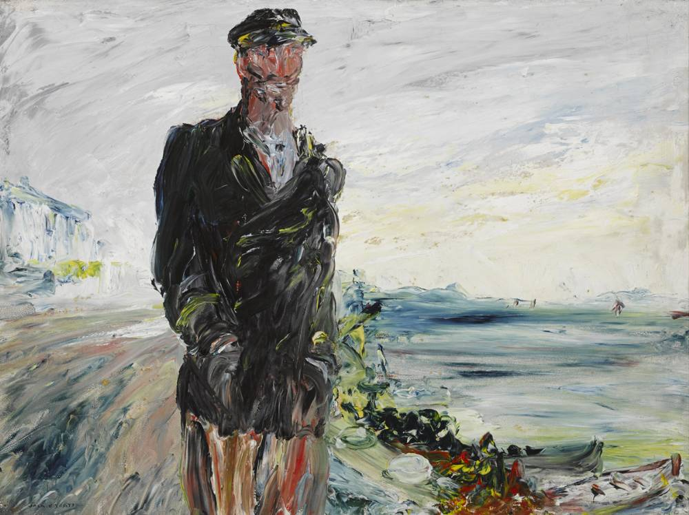 PILOT SLIGO RIVER /  PÍOLÓTA ABHANN SLIGEACH, 1927 by Jack Butler Yeats RHA (1871-1957) RHA (1871-1957) at Whyte's Auctions