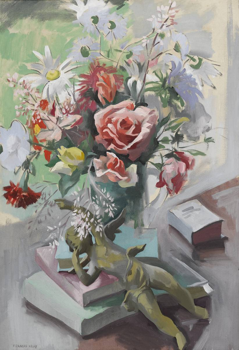 STILL LIFE by Frances J. Kelly sold for �1,500 at Whyte's Auctions