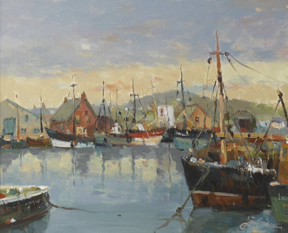 ARKLOW HARBOUR by Liam Treacy (1934-2004) at Whyte's Auctions