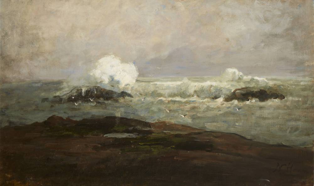 STORMY COAST, COUNTY CLARE by Nathaniel Hone sold for €30,000 at Whyte's Auctions