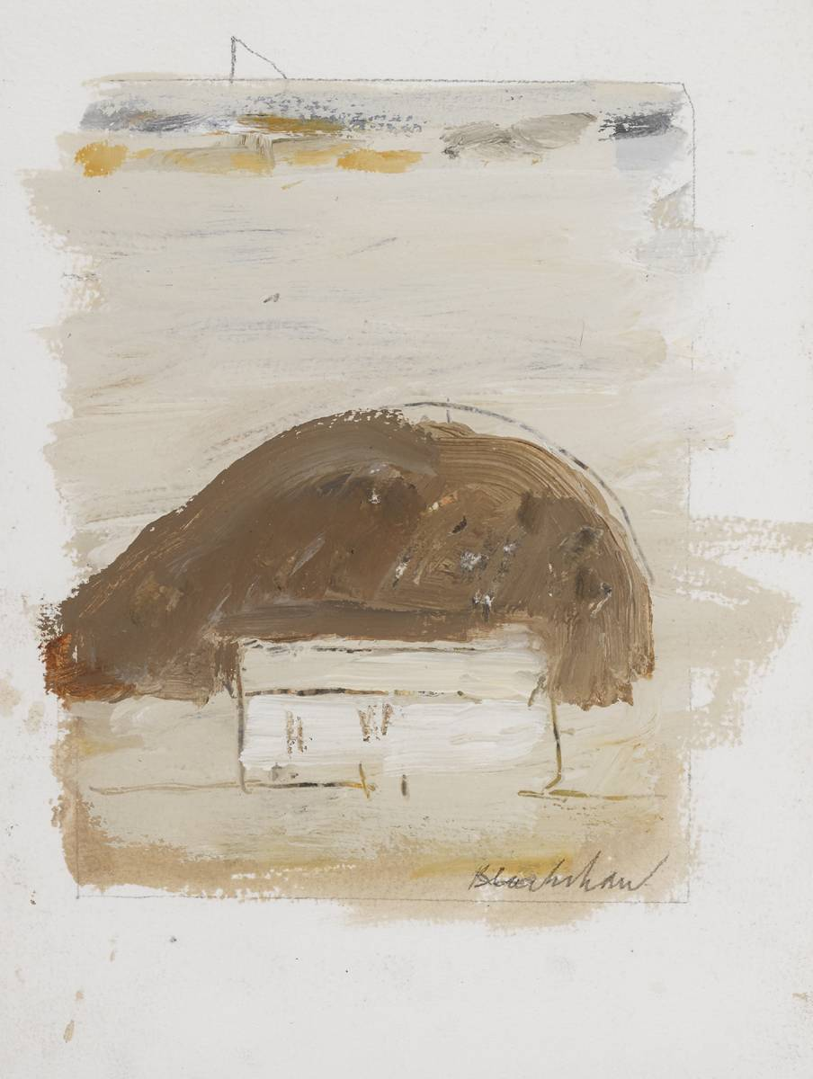 ANOTHER PLACE by Basil Blackshaw HRHA RUA (1932-2016) at Whyte's Auctions