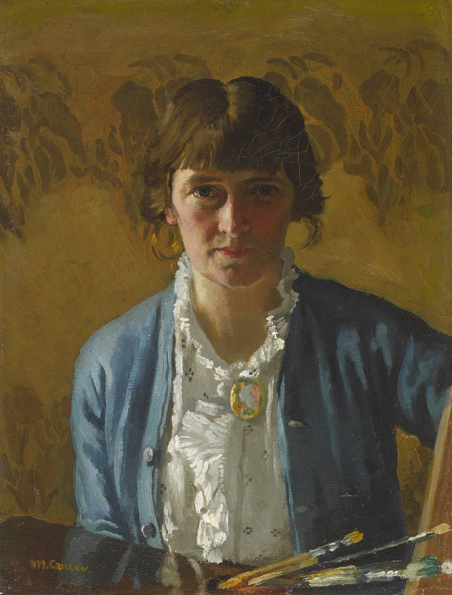 SELF PORTRAIT, c.1914 by Margaret Clarke (née Crilley) RHA (1888-1961) RHA (1888-1961) at Whyte's Auctions