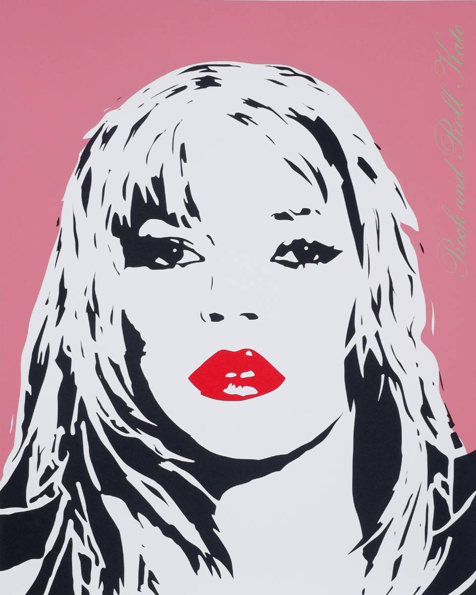 ROCK AND ROLL KATE (KATE MOSS) at Whyte's Auctions