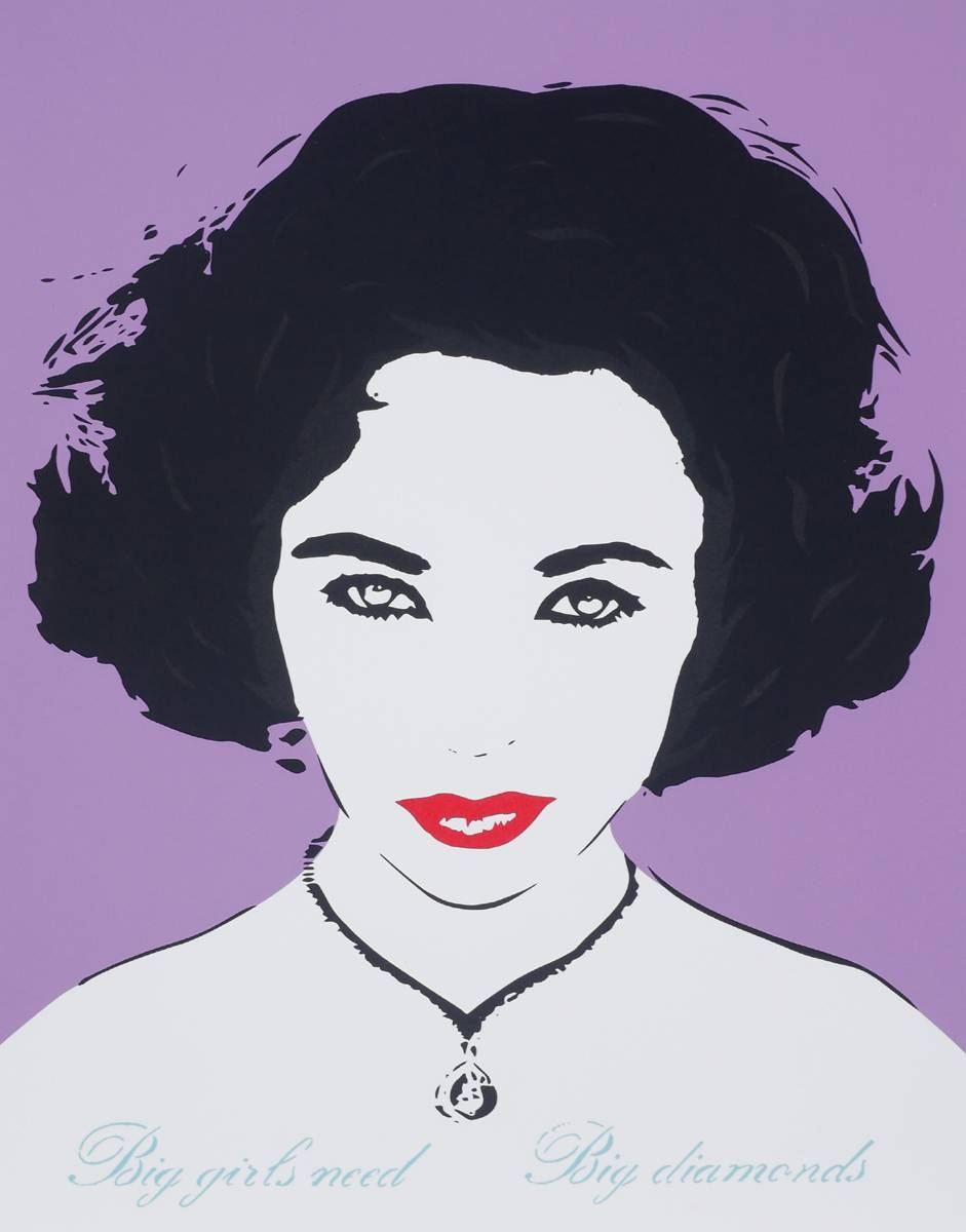 BIG GIRLS NEED BIG DIAMONDS (LIZ TAYLOR) at Whyte's Auctions