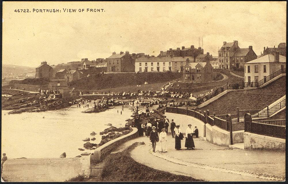 Postcards. Co. Antrim: Portrush collection. (70 approximately) at Whyte's Auctions