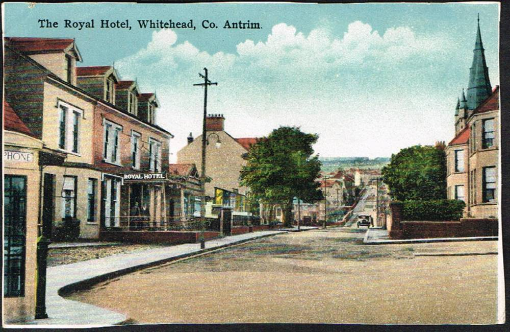 Postcards. Co. Antrim: Whitehead collection. (60 approximately) at Whyte's Auctions