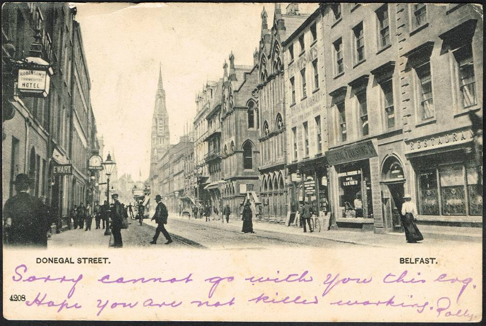 Postcards. Belfast collection. (100 approximately) at Whyte's Auctions