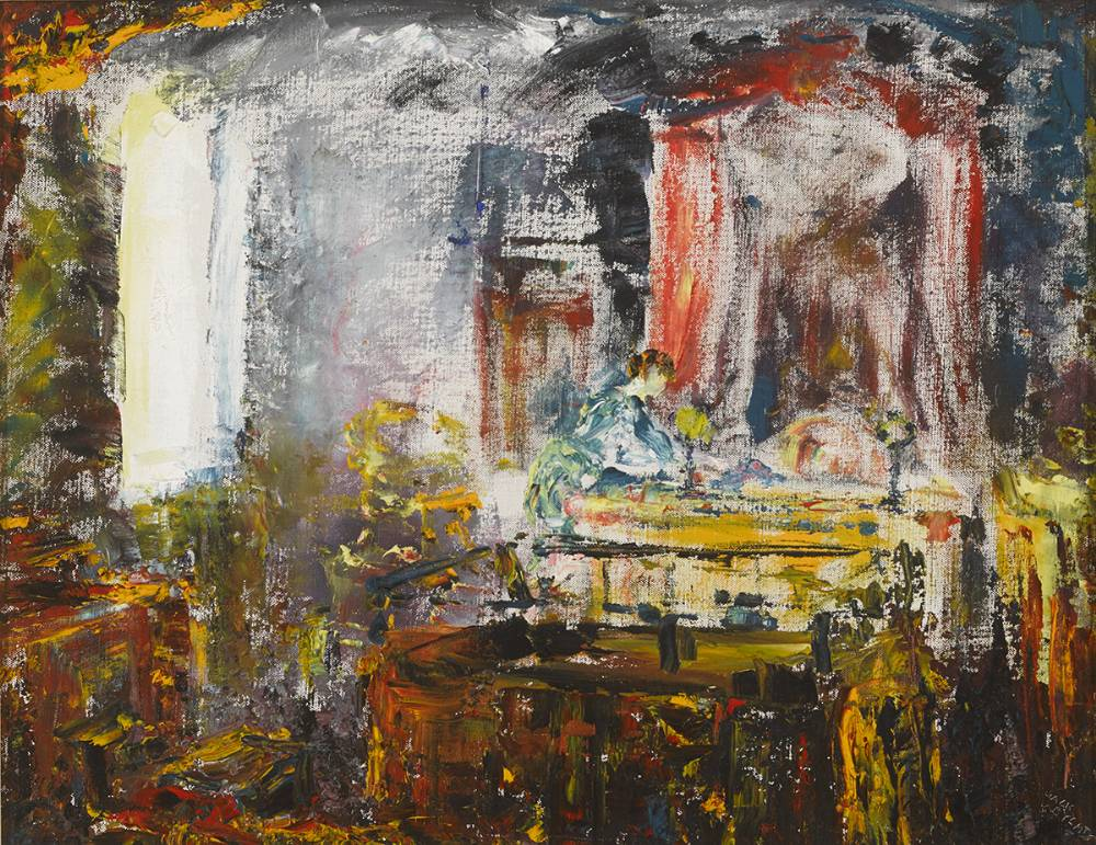 JUSTICE, 1946 by Jack Butler Yeats RHA (1871-1957) at Whyte's Auctions