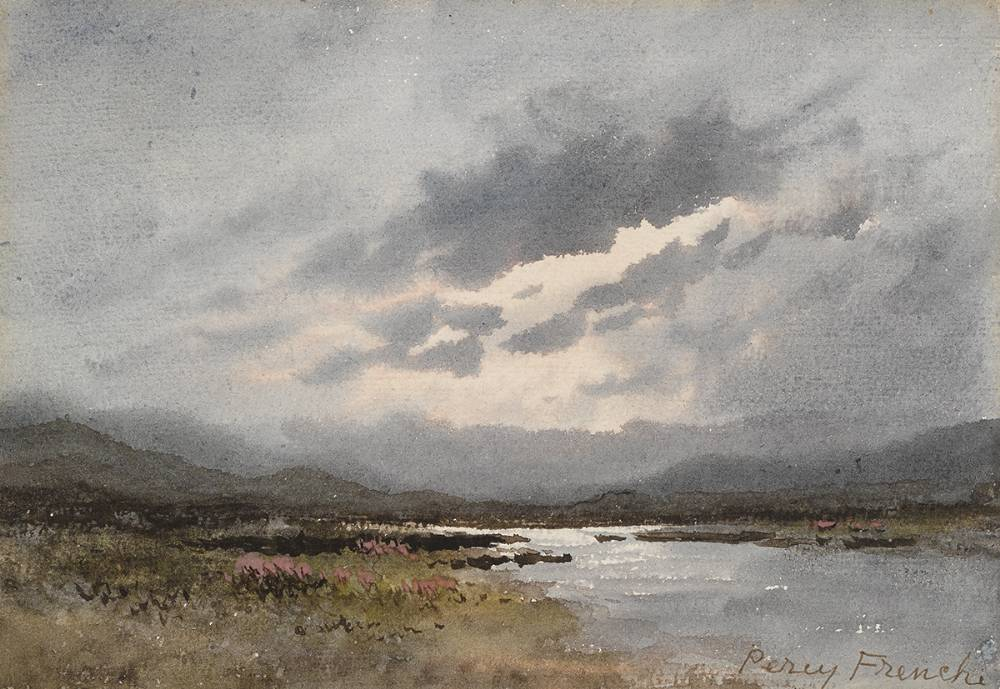 BOG LAKE by William Percy French (1854-1920) at Whyte's Auctions