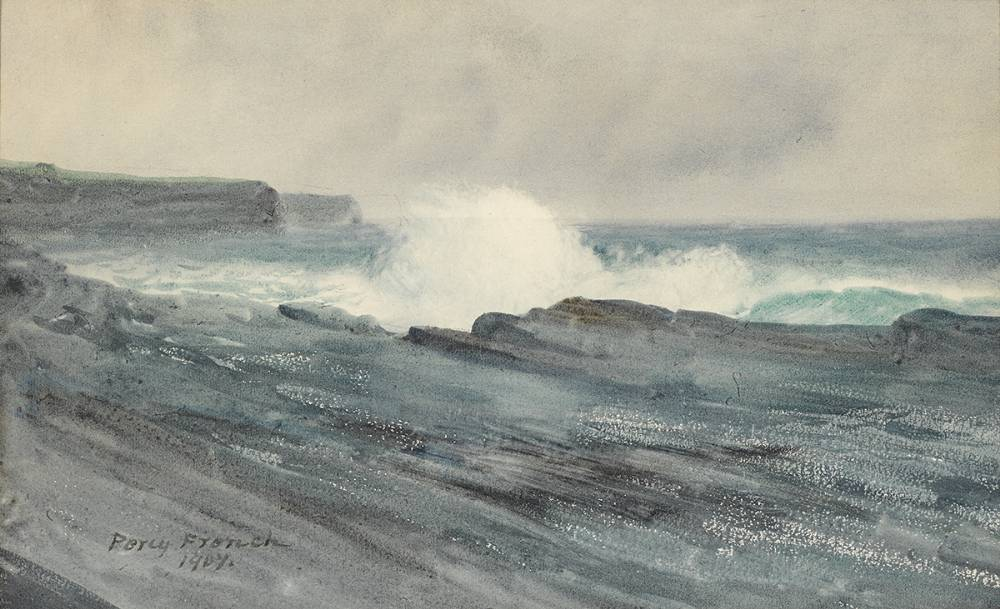 SEASCAPE, 1907 by William Percy French (1854-1920) at Whyte's Auctions
