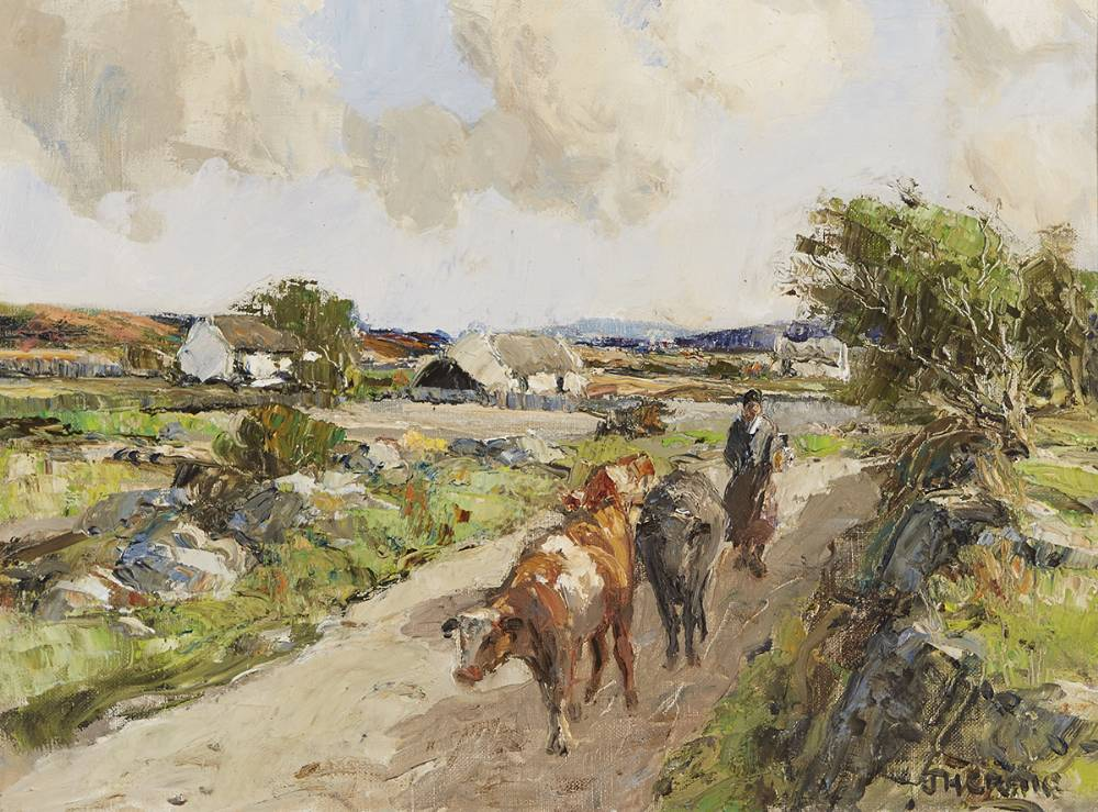 A FRESH MORNING AT DUNGLOE, COUNTY DONEGAL by James Humbert Craig RHA RUA (1877-1944) at Whyte's Auctions