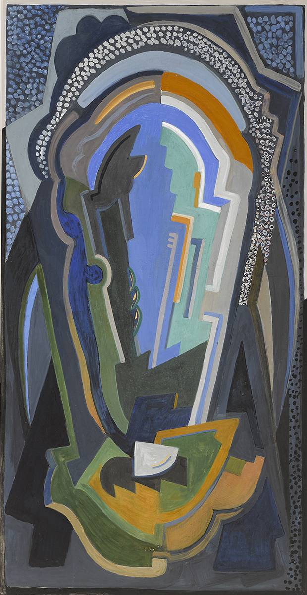 ABSTRACT DESIGN by Mainie Jellett sold for �15,000 at Whyte's Auctions