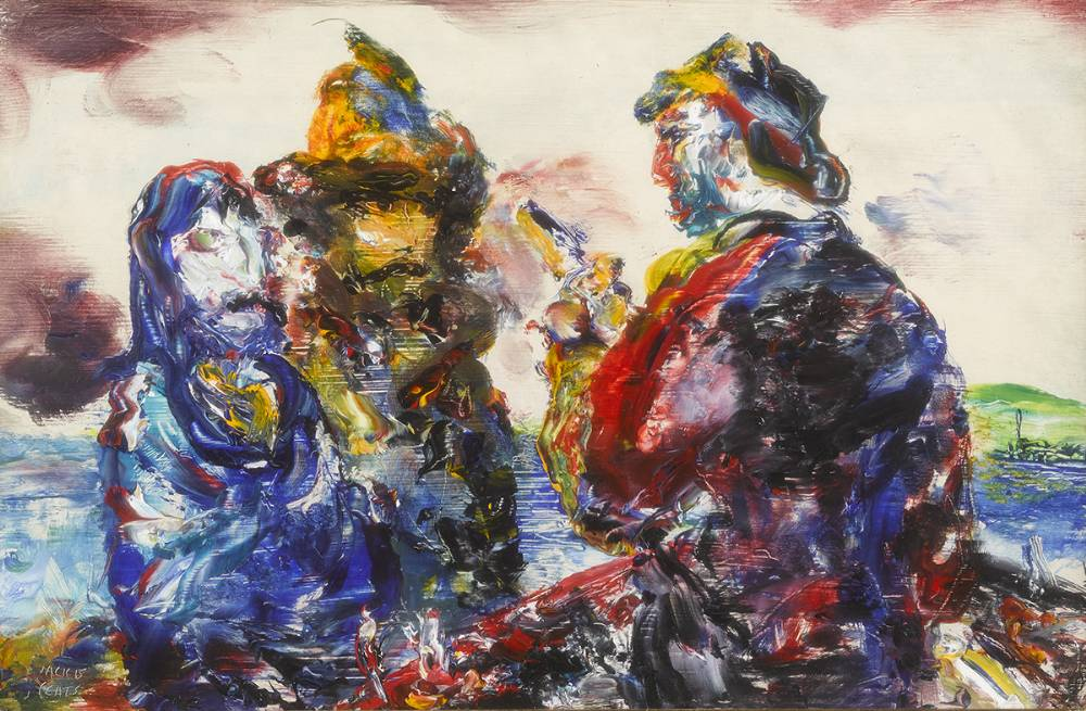 A PASSAGE IS REQUIRED, 1953 by Jack Butler Yeats RHA (1871-1957) at Whyte's Auctions