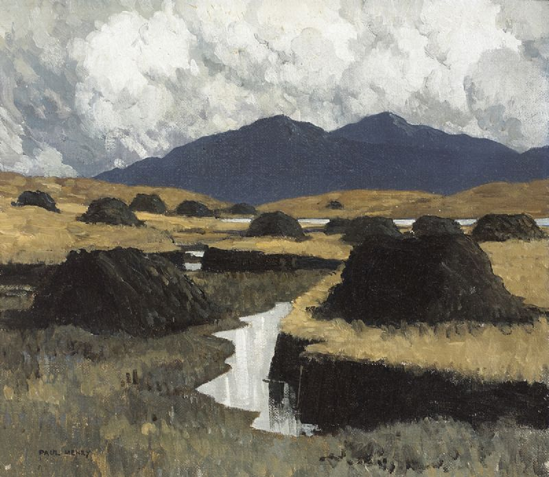 A KERRY BOG, 1934-1935 by Paul Henry RHA (1876-1958) RHA (1876-1958) at Whyte's Auctions