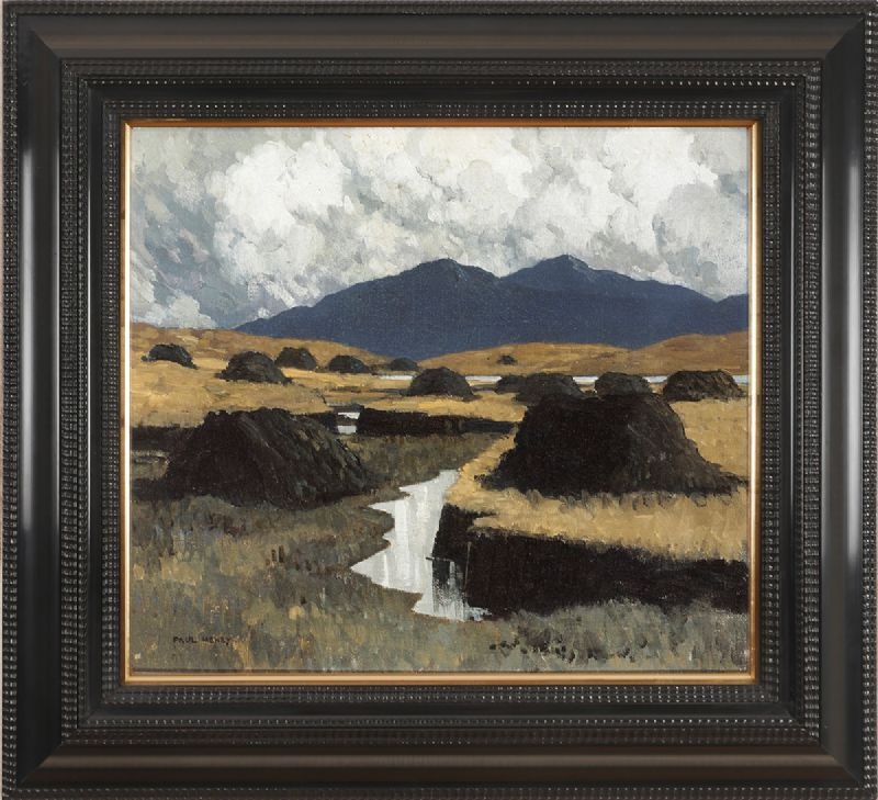 A KERRY BOG, 1934-1935 by Paul Henry sold for €66,000 at Whyte's Auctions